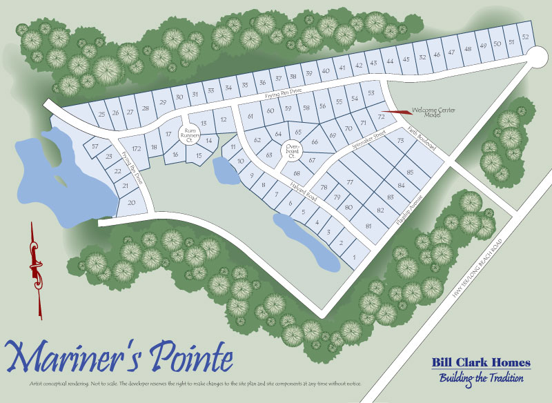 Mariner's-Pointe-site-map